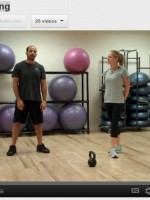Click on the image above to view proper form for the Kettlebell Swing.